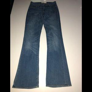 Paper denim & cloth 27 boot cut jeans true blue